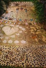 Mosaic Path An organic /eclectic styles influence this mosaic path
